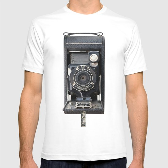 Vintage Autographic Kodak Jr. Camera T-shirt