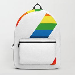 LGBT ALLY Rainbow Gay Pride Flag Backpack