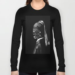 Girl with No Face Long Sleeve T-shirt
