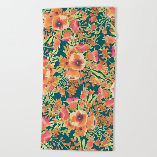 Floral Bunch #society6 #decor #buyart Beach Towel