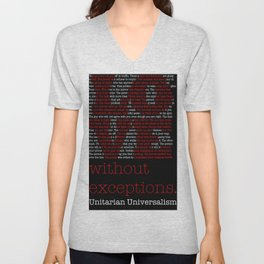 Love without Exceptions (LOVE) Unisex V-Neck