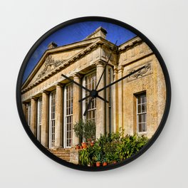 Temple Greenhouse Wall Clock