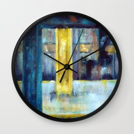 Underneath NYC: 7th Ave on the G line Wall Clock