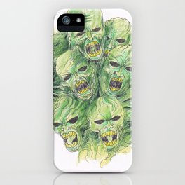 Souls Of The Dead Art iPhone Case