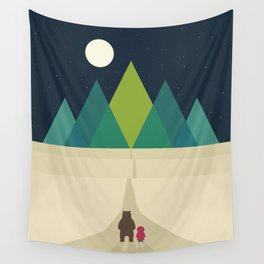 Long Journey Wall Tapestry