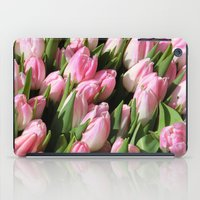 tulips iPad Cases featuring  Tulips. by Assiyam