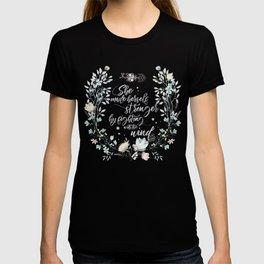 The Secret Garden - She Made Herself Stronger T-shirt