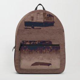 girl on beach Backpack