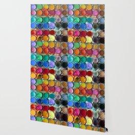 Pallet Abstract Art Wallpaper