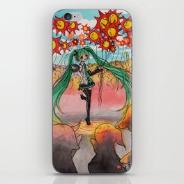 Hatsune Miku iPhone Skin