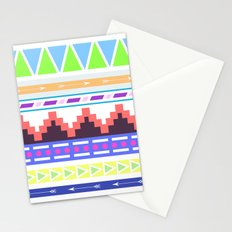 Aztec Pattern; Stationery Cards