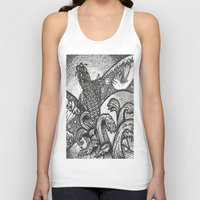 japan Tank Tops featuring Japan by Alabaster & Ink
