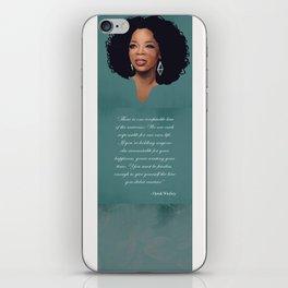Oprah Winfrey Quote iPhone Skin