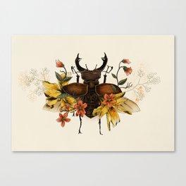 Blooming Beetle Canvas Print