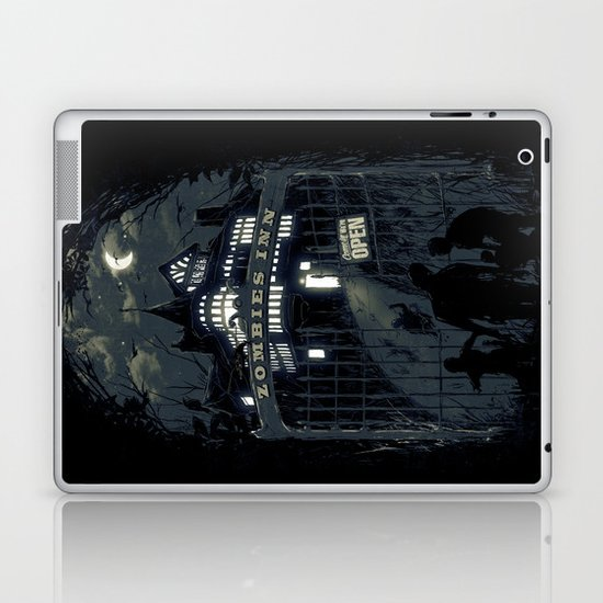 Zombies Inn Laptop & iPad Skin