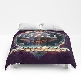 Yeah she sees my Hyrulin' - 80's Legend of Zelda Shield Comforters