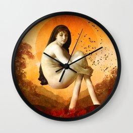 Awakening Wall Clock