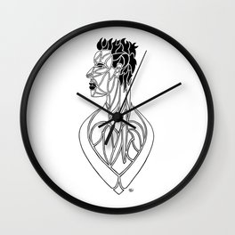 Esprit et Ame / Spirit and Soul Wall Clock