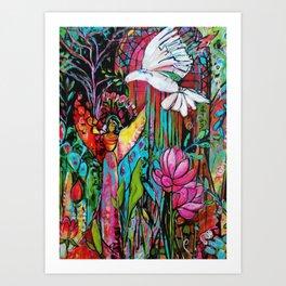 Peace, Love, Understanding Art Print