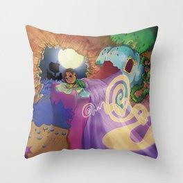 Le monde de lea Throw Pillow