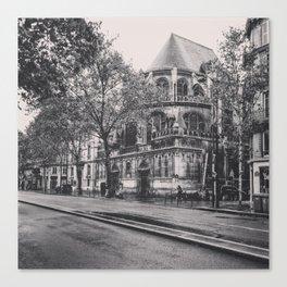 14th arrondissement Canvas Print