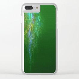 Falling  petals Clear iPhone Case
