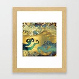 Underwater Dream I Framed Art Print
