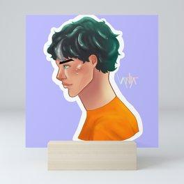 Son of Poseidon Mini Art Print