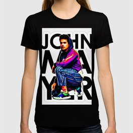 john mayer album 2020 atin1 T-shirt