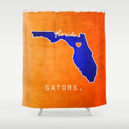 Gators Shower Curtains