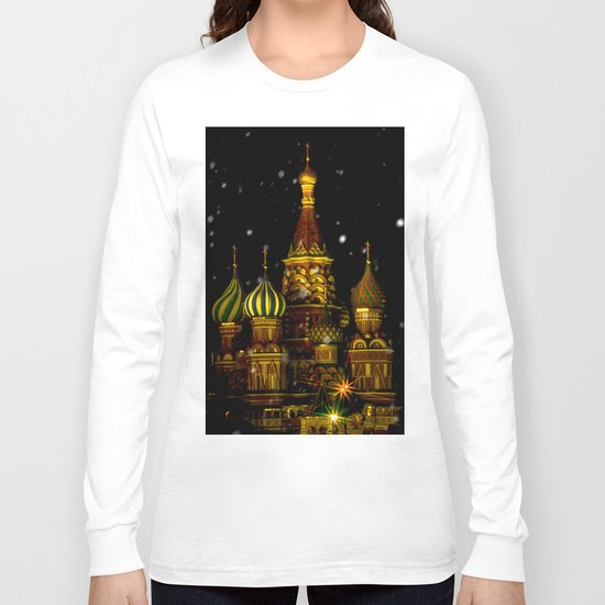 Moscow Night Long Sleeve T-shirt