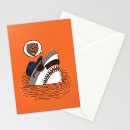 Da Chicago Shark Stationery Cards