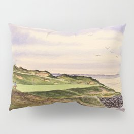 Whistling Straits Golf Course Hole 7 Pillow Sham