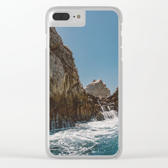 Cabo San Lucas X Clear iPhone Case