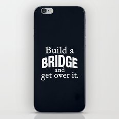Build a Bridge iPhone & iPod Skin