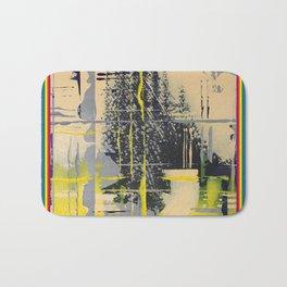 Sunday Morning - colour frame Bath Mat