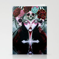coven Stationery Cards featuring Coven by Kao Lee Thao @InnerSwirl.com
