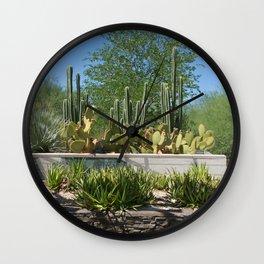 Desert Steps Wall Clock