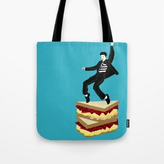 Homage To Elvis Tote Bag