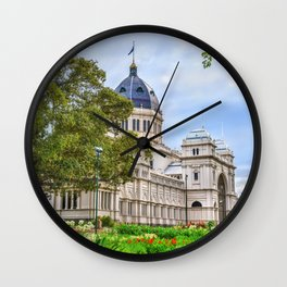 Melbourne Australia Museum Royal Exhibition Building Trees Cities museums Houses Wall Clock