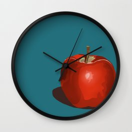An Apple a Day... Wall Clock
