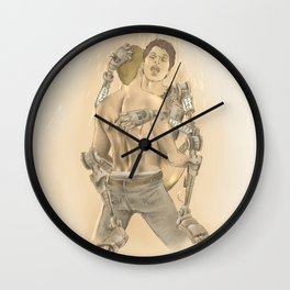 Do androids dream of electric bees? Wall Clock