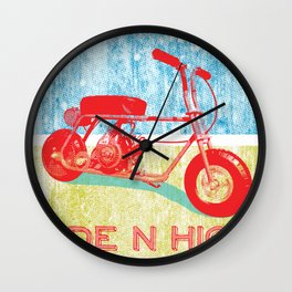 Ride N' High Wall Clock