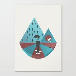 """""""Ceci n'est pas Magritte."""" Canvas Print"""