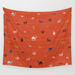 Jarmo in Red Wall Tapestry