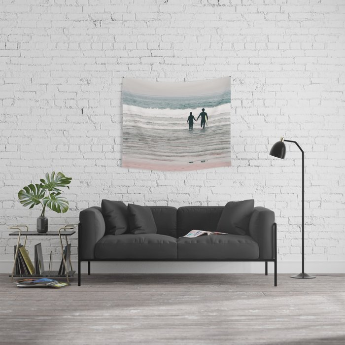 surf love Wall Tapestry