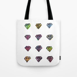 Colorful Diamonds Tote Bag