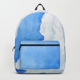 summer cloud watercolor Backpack