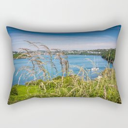 View of Kinsale, Ireland from Summer Cove Rectangular Pillow