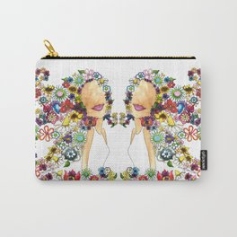 Flower Girl Two Carry-All Pouch